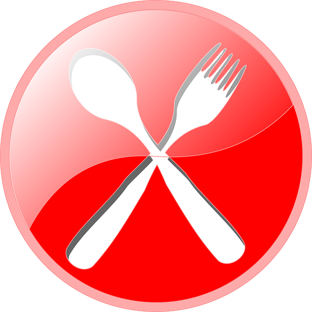 Red Fork And Knife Png image #3686