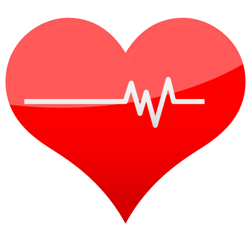 Red Heart Icon Png image #6565