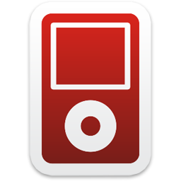 Red Ipod Icon image #28950