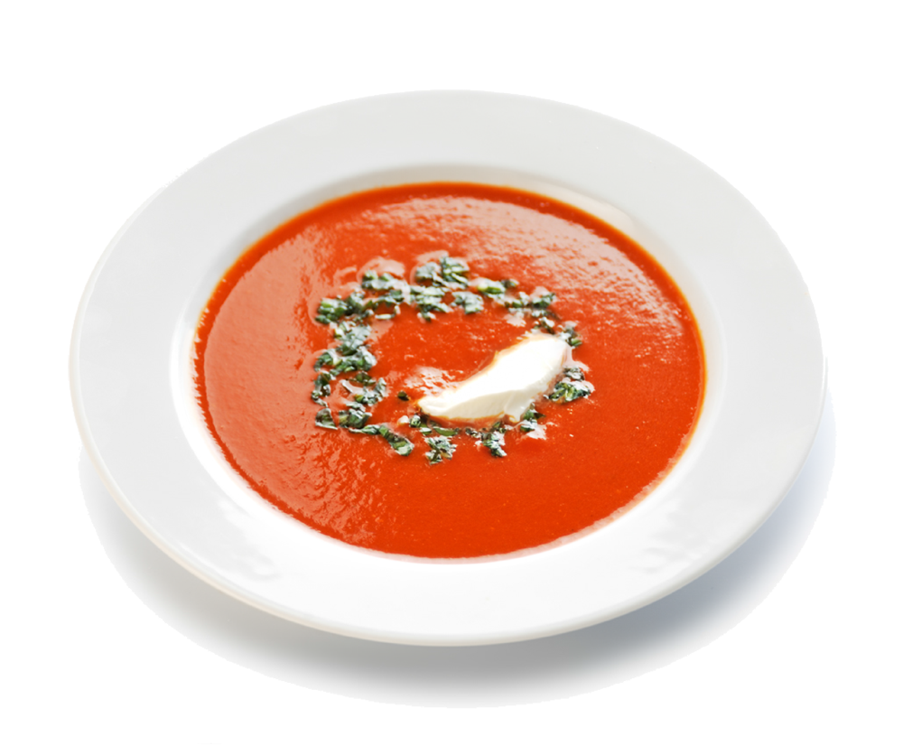Red Pepper & Tomato Soup Recipe Png image #43885