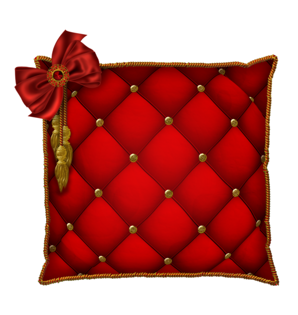 Red Pillows Png image #28438
