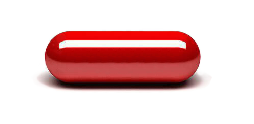 Red Pills Icon Png image #33156