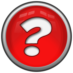 Red Question Mark Icon image #41654