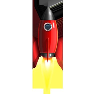 red rocket png