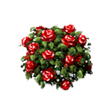 Red Rose Bush icon png