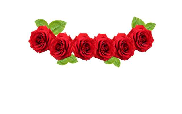 Red Rose Flower Crown Png image #42610