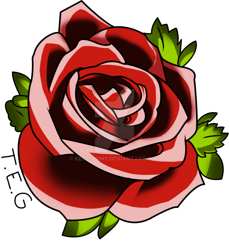 Red Rose Tattoo Png image #39046