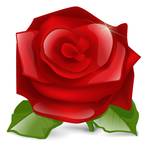 Red Roses Icon  image #13895