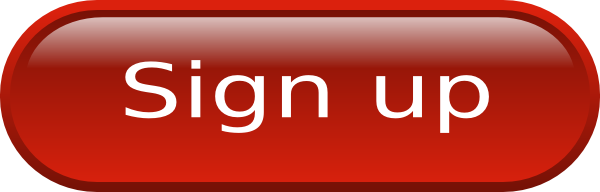 Red Sign Up Button Png image #28474