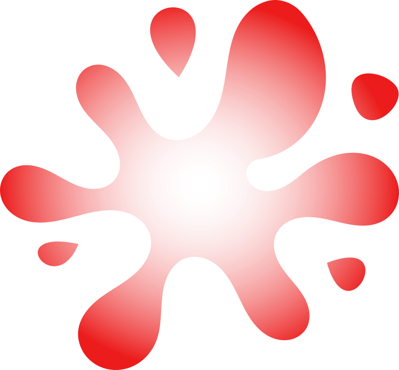 Red Splat Png image #38298