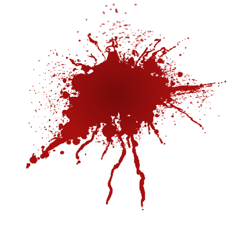 Red Splat Png image #38304