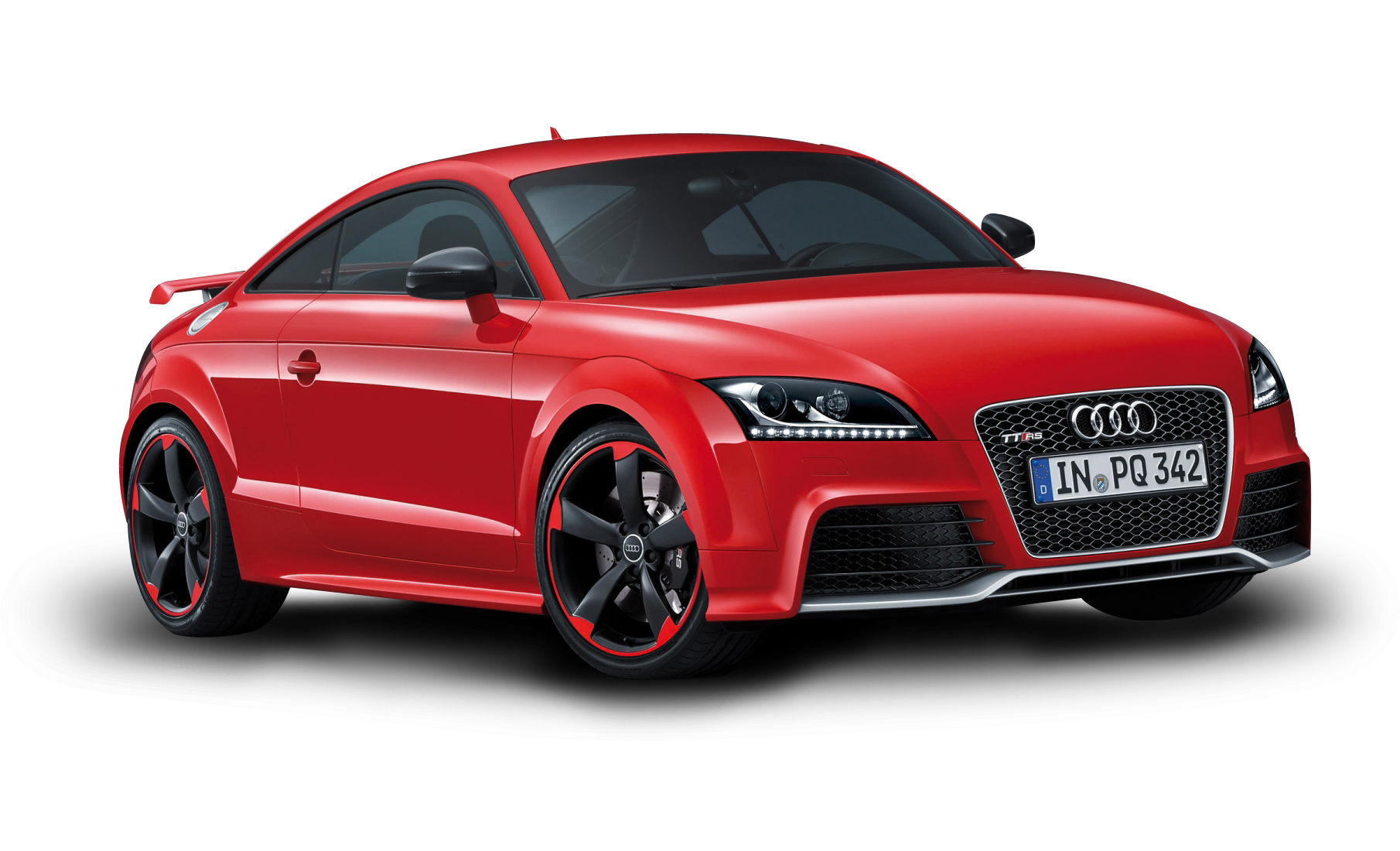 Red Sports Audi Car PNG Image image #45328