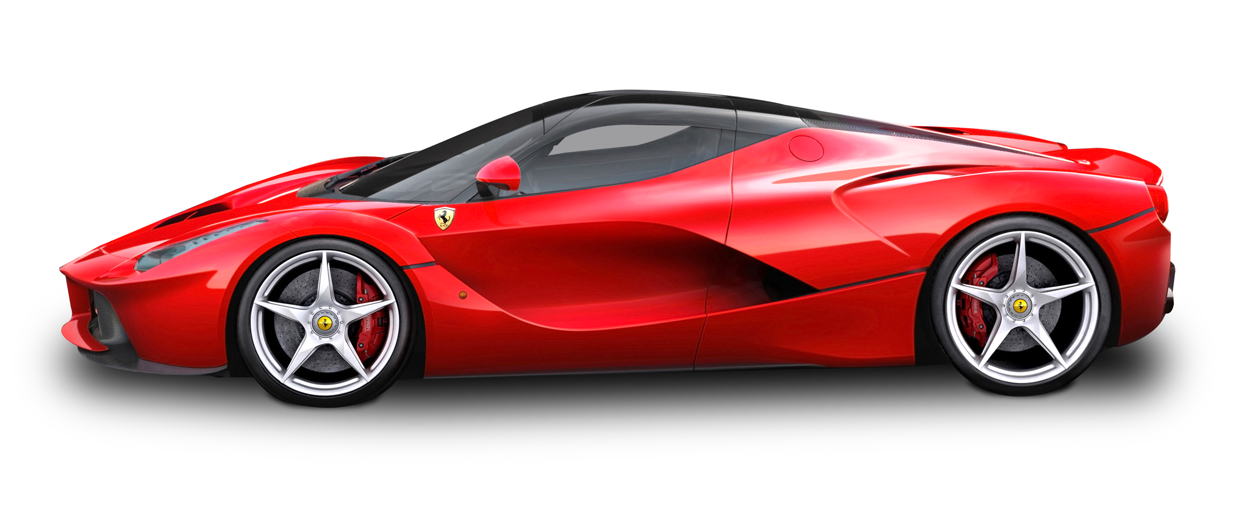 Red Sports Car Ferrari Png 39069 Free Icons And Png