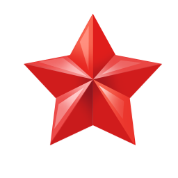 Red Star Icon image #19126
