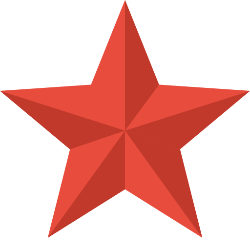 Red Star Icon image #19119