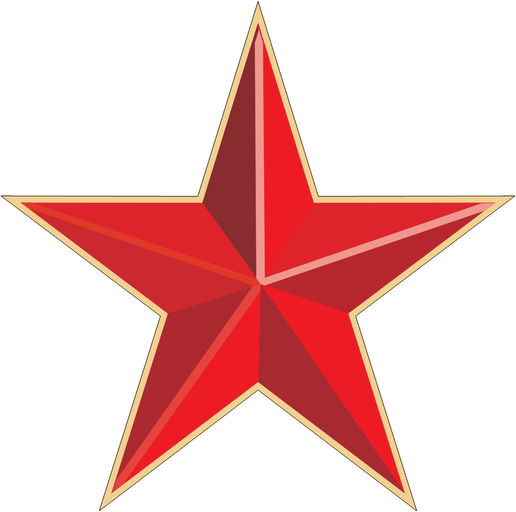 red star PNG image  red star PNG image