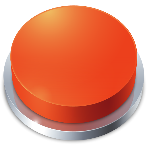 Red Stop Button Icon Png image #21053