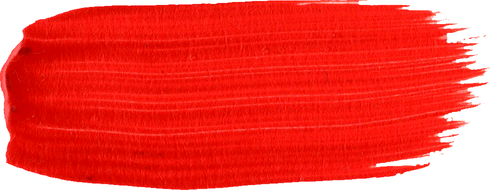 Red Thick Brush Stroke PNG