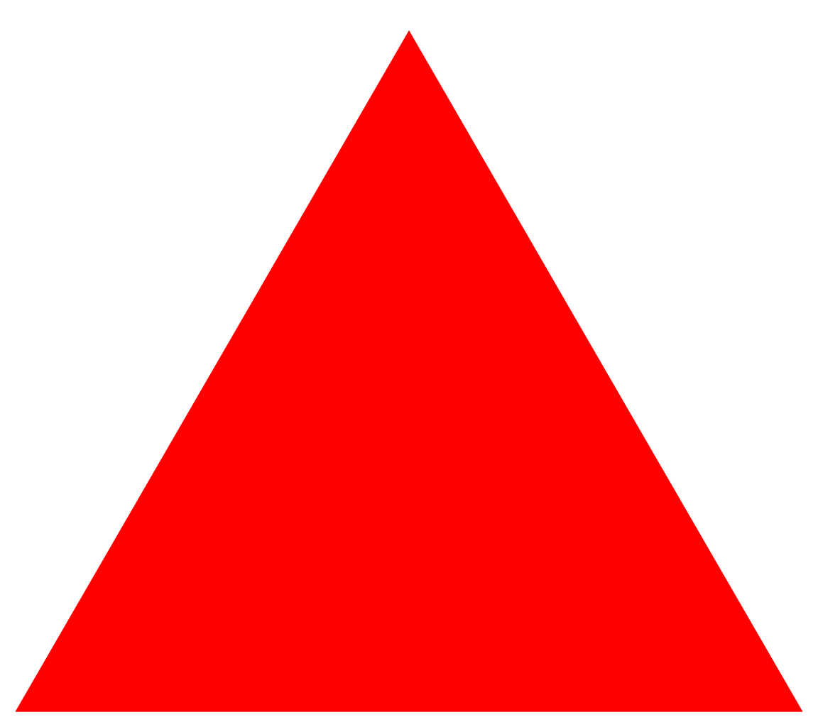 Red Triangle Png image #42416