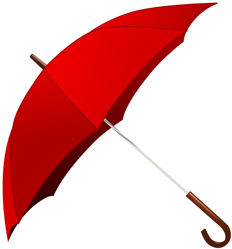 Red Umbrella Png image #19745