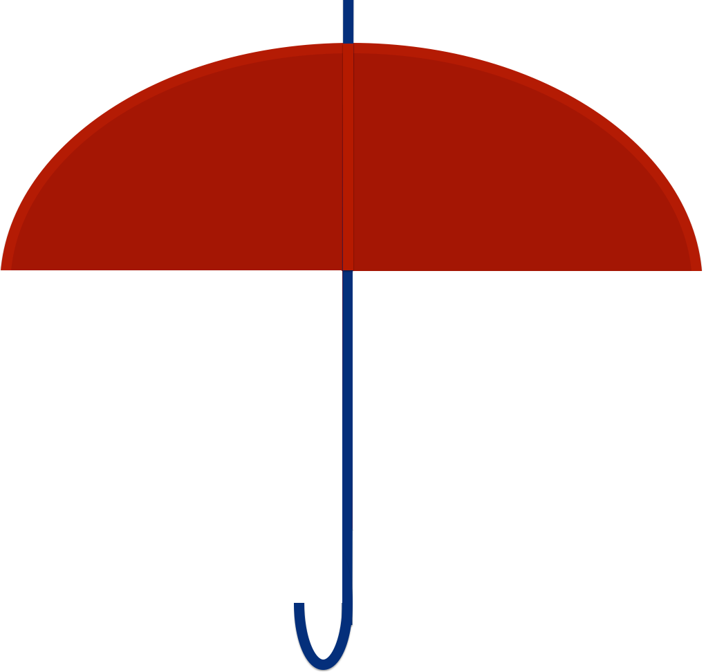 Red Umbrella Png image #19733