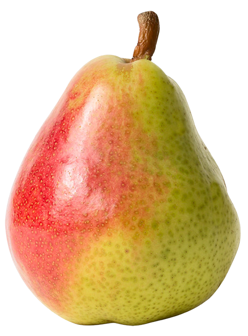 Red Yellow Pear Png image #38681