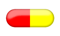 Red, Yellow, Pills Png image #33163