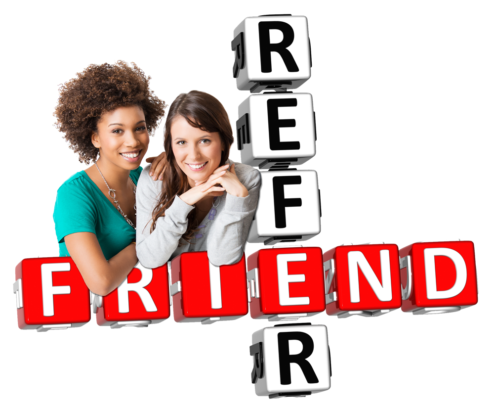 High Resolution Refer A Friend Png Clipart