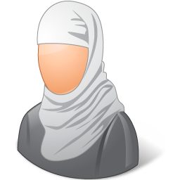 Religions Muslim Female Icon image #7895