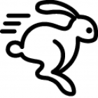 Rabbit, Transfer, Remittance Icon image #40378