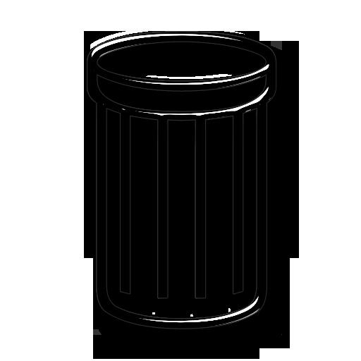 how to change trash bin icon