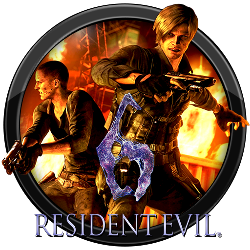 Resident Evil 6 Icon Png image #43697