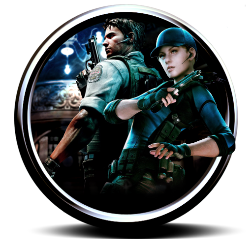 Resident Evil Remaster Circle PNG Icon image #43706