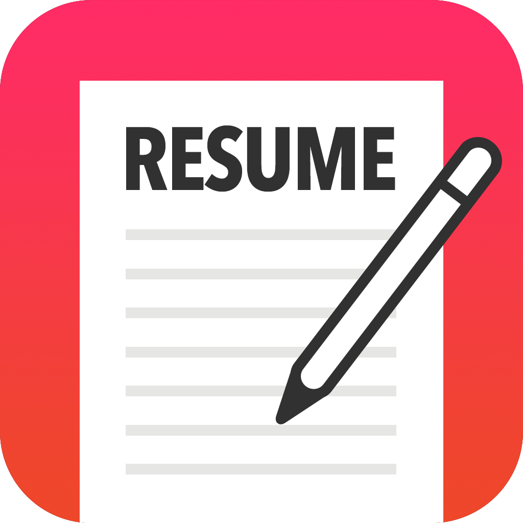 Resume Icon Png image #19025