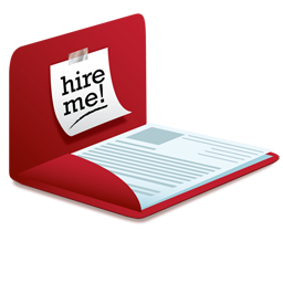 Resume Icon Png image #19039