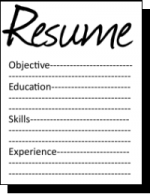 Resume Icon Png image #19040
