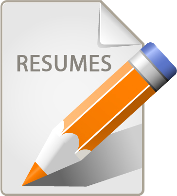 Resume Icon Png image #19043