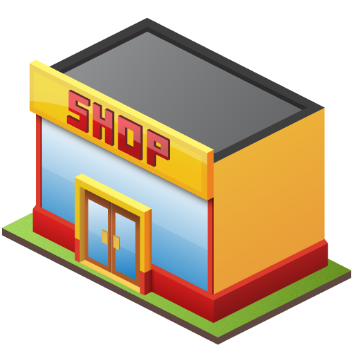 Icon Retail Store Free Vectors Download image #14318