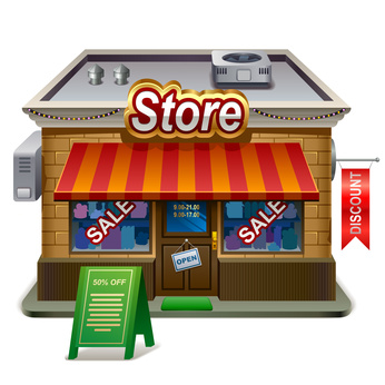 Retail Store  Library Icon image #14321