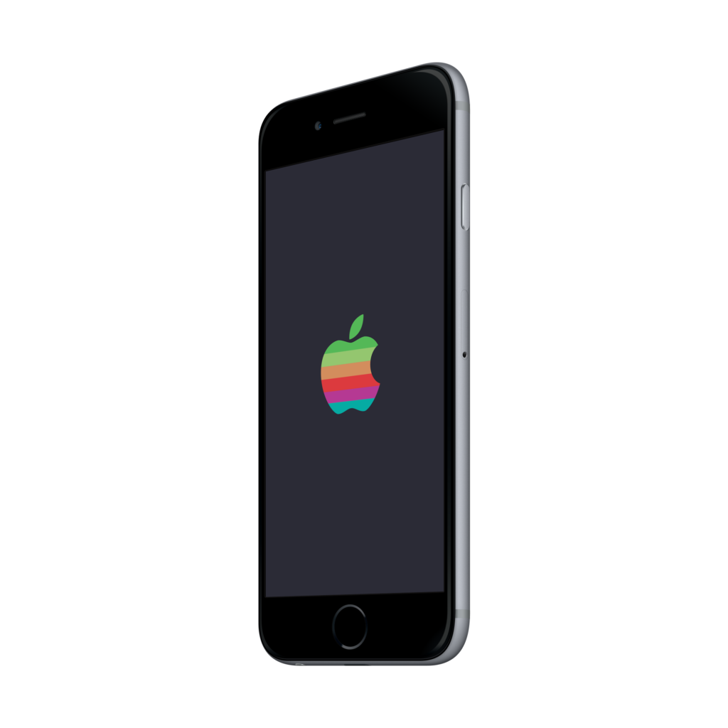 Retro Apple Logo IPhone X image #45231