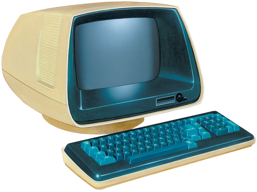 Retro Computer Png image #45265