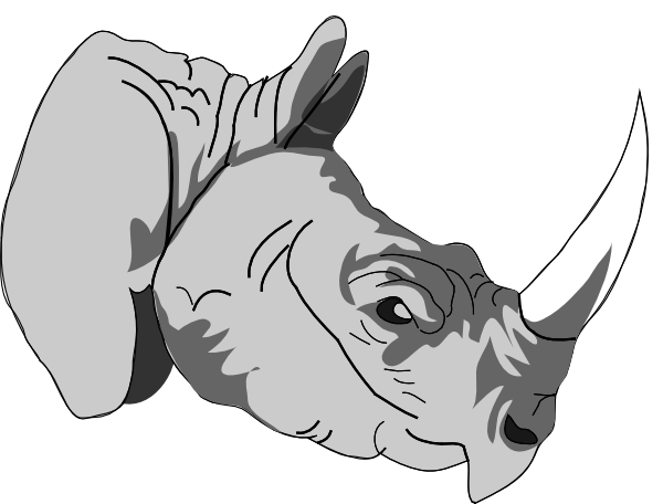 Rhinoceros 3d Animal download 3d animal PNG images