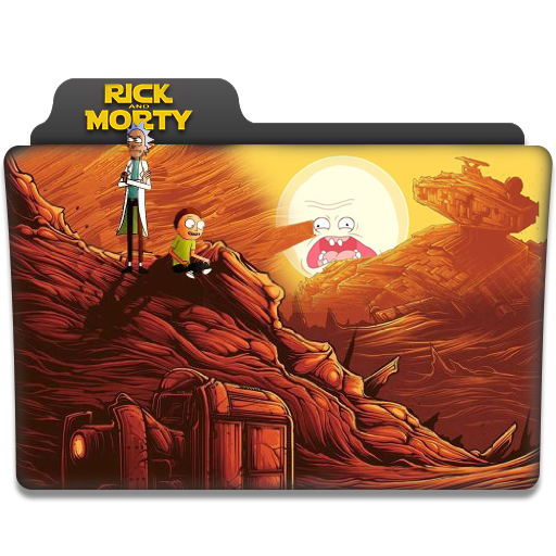 Rick and Morty Folder icon