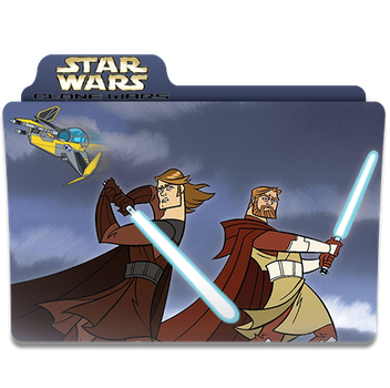 Rick and Morty Star Wars Folder Icon