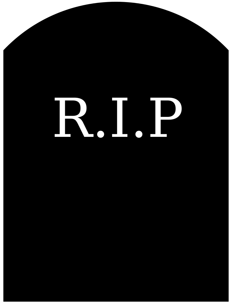 RIP Icon Png image #4462