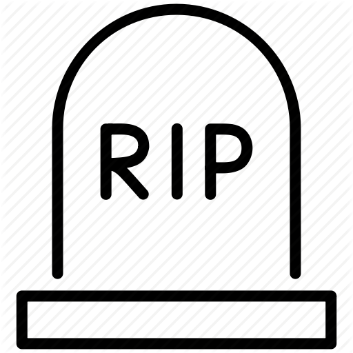 Rip Skull Stop Tomb Icon image #4464