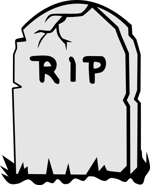 Rip Tombstone Art
