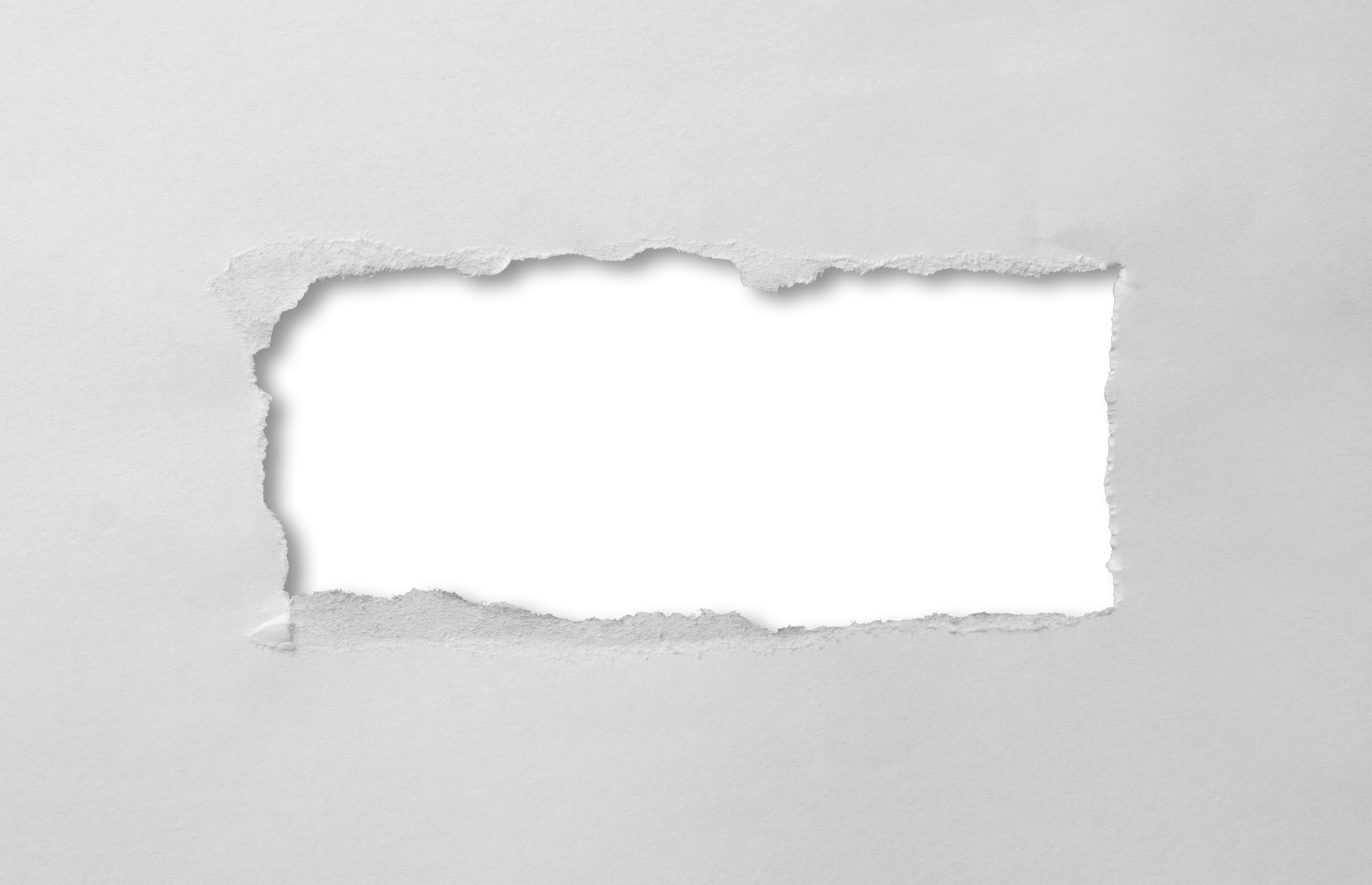 Ripped Paper Symbol White Rectangle Image image #48360