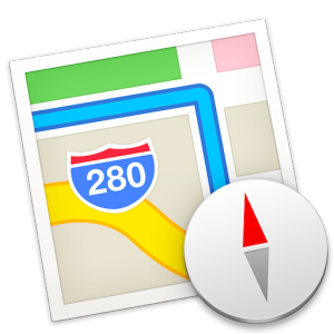 Icon Road Map Hd