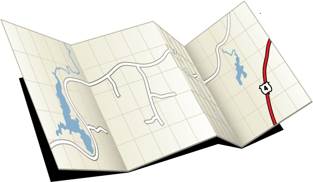 Icon Download Png Road Map image #14434